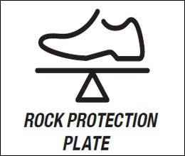 Rock Protection plate (Пластина защиты от камней)